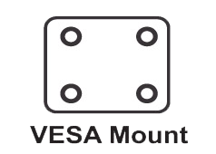 VESA-mount ready