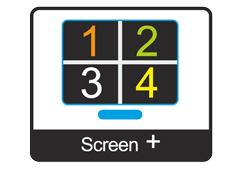 Screen +